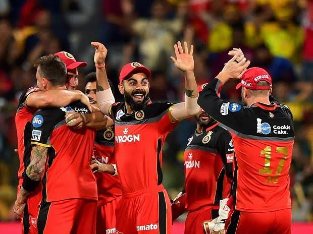 What they had at the start of the auction: Royal Challengers Bangalore