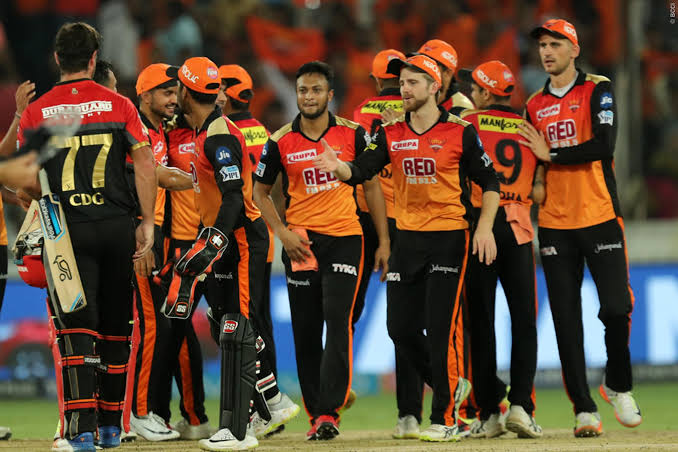 Sunrisers Hyderabad's squad for IPL 2020