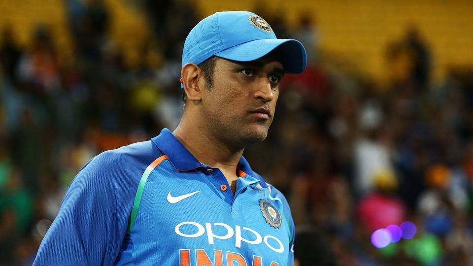 MS Dhoni turns up for practice just hours after contract snub
