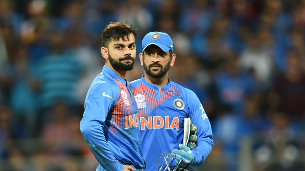 Virat Kohli and MS Dhoni tops most searched cricketers list