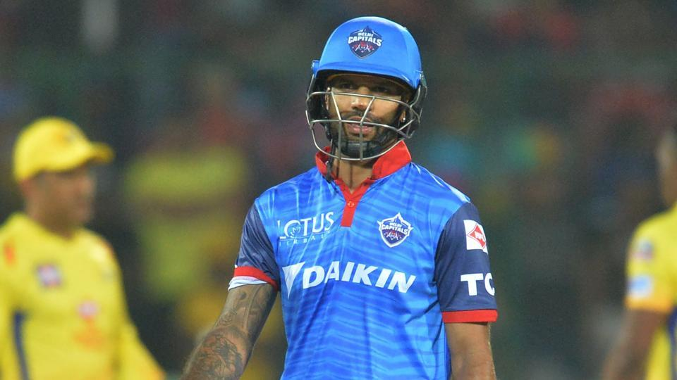 Shikhar out of action for 10 weeks; May miss first half of IPL 2020
