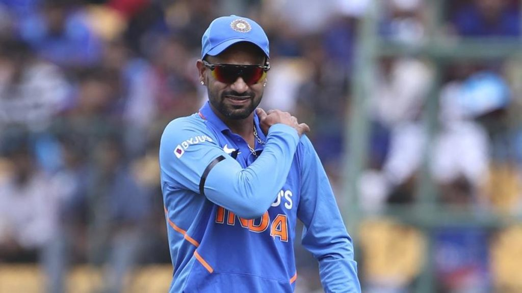Dhawan ruled out from New Zealand series, replacement named