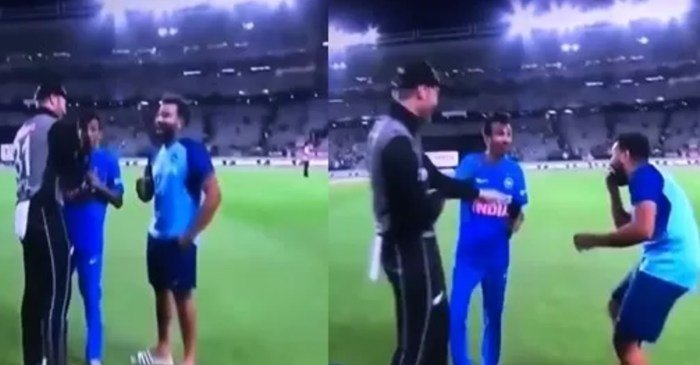 Martin Guptill call Chahal G**du in the interview