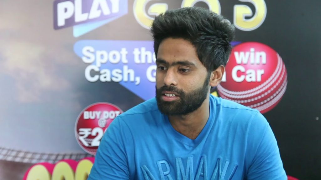 Surya Kumar Yadav might be picked for NZ tour
