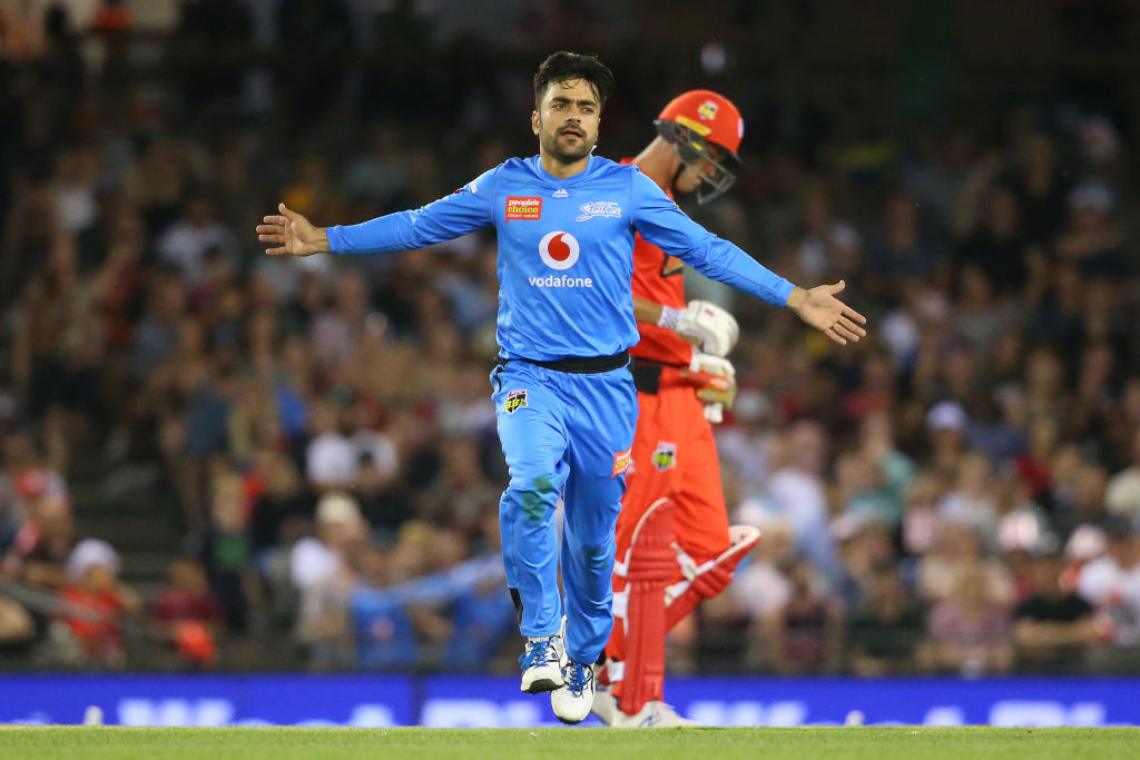 Rashid Khan's inner ABD not enough to win the match for Adelaide Strikers
