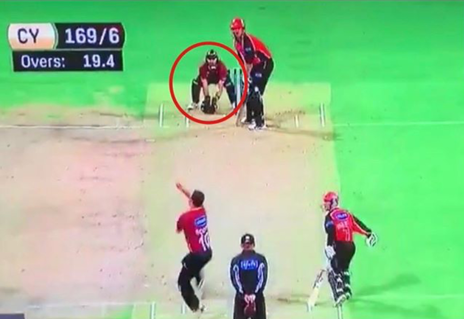 McGlashan's pro-active thinking and a possible run-out