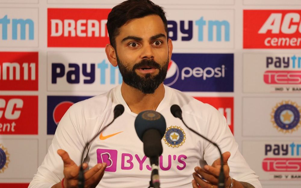 Virat Kohli hinted at surprise inclusion in pace department for Australia tour