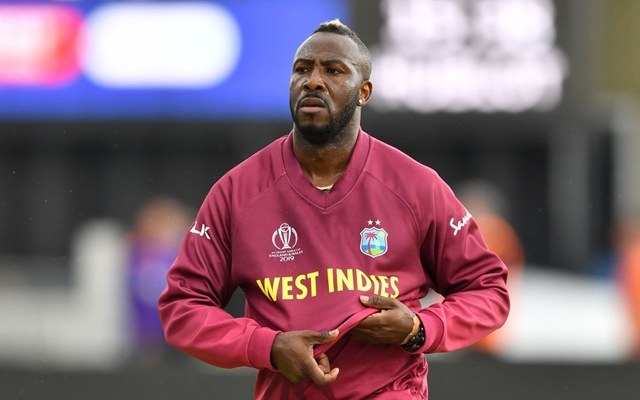 "I wanted to look sexy for the girls"" opens up Andre Russell on his weak knees"