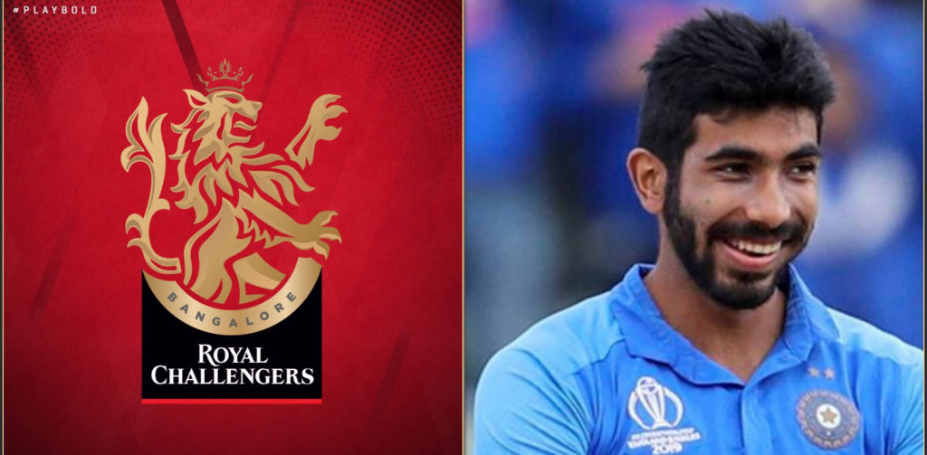 Jasprit Bumrah's cheeky response on Royal Challengers Bangalore's new logo
