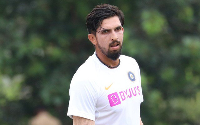 Ishant Sharma to miss the second test due to ankle injury