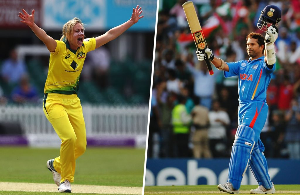 Sachin Tendulkar to come out of retirement for Ellyse Perry's wish