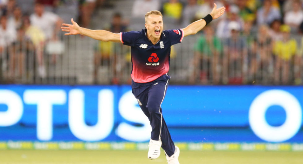Tom Curran accepts the Virat-Rohit challenge ahead of the IPL
