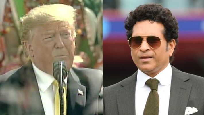 ICC takes on Donald Trump as he fumbles in enunciating Sachin's name