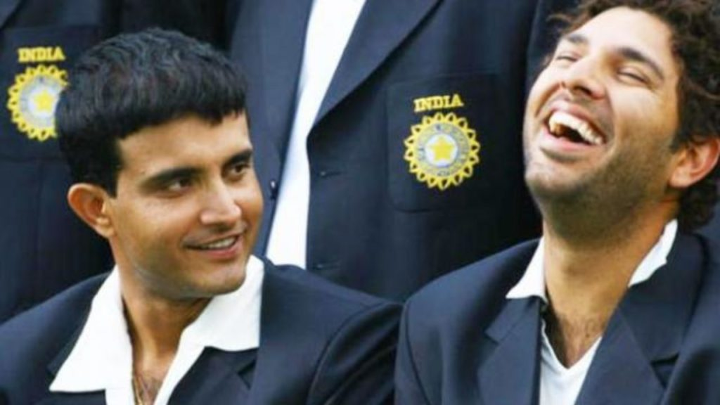 Sourav Ganguly's Nostalgia and Yuvraj's humour makes a day on Twitter