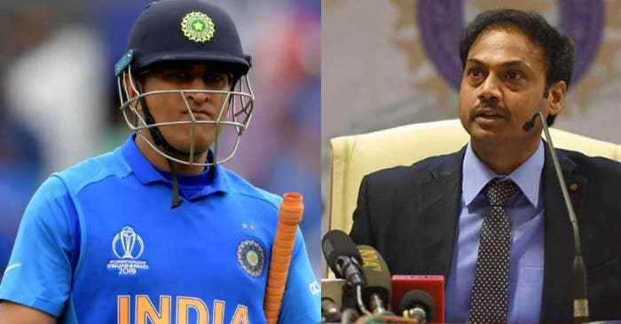 """MSD is clear about his future as Indian Cricketer"" quips MSK Prasad"