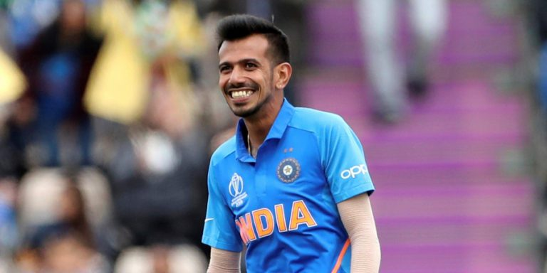 Yuzvendra Chahal cleans up the trio of Quinny, Stokes and Perry with a single Googly on Instagram