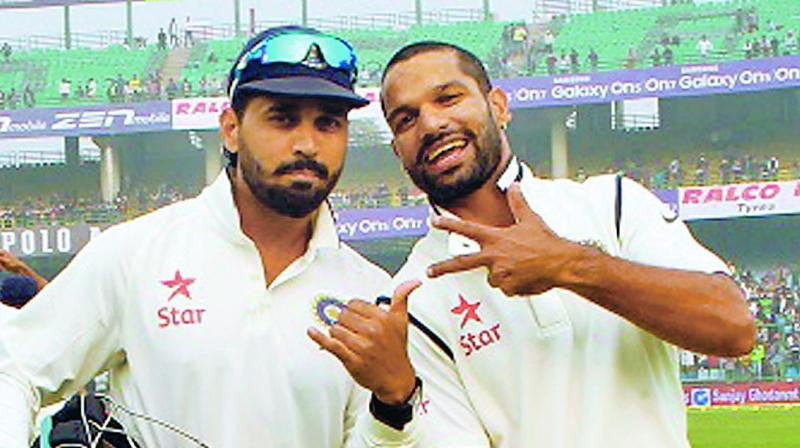 'I tell him 'you're like my wife' Dhawan on opening partnership with Vijay