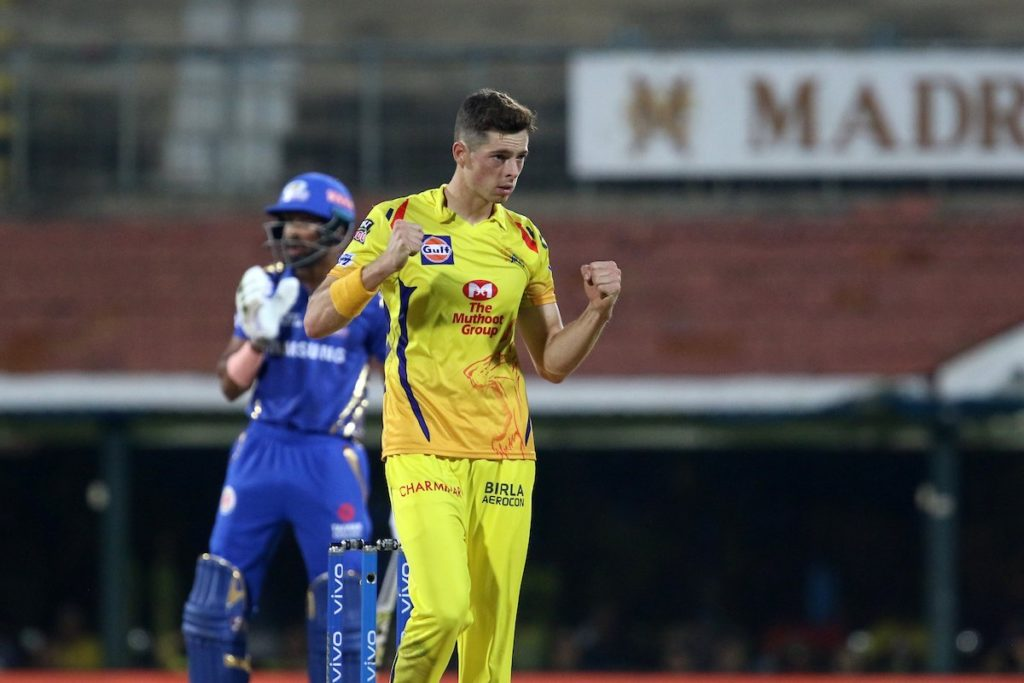 Mitchell Santner recalls the most heated moment of IPL 2019