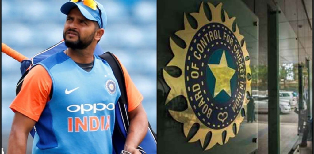 A BCCI official responds to the Raina's request of allowing non-contracted players to participate in foreign leagues