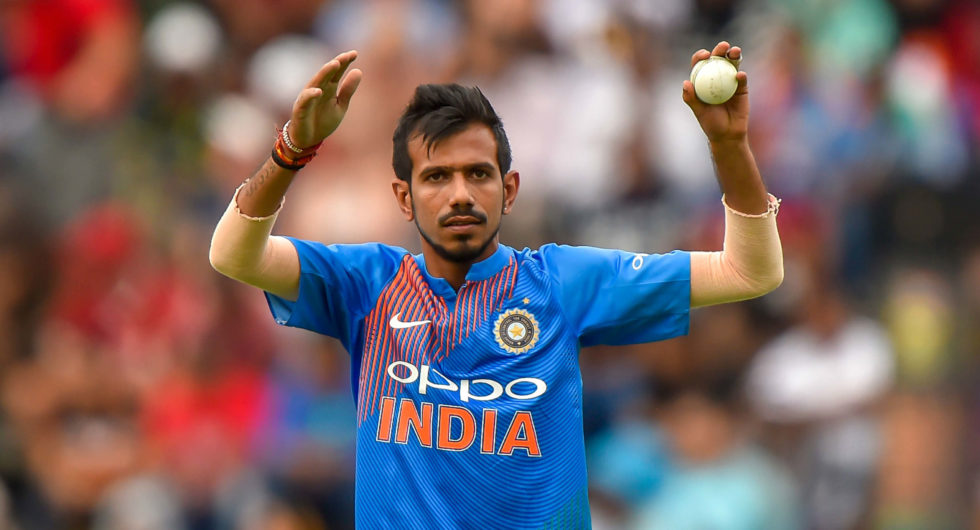 Chahal takes a hilarious dig at ICC for the proposal of banning the use of saliva