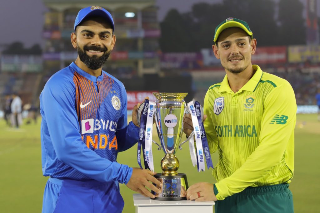 Cricket South Africa wishes to host India for 3-T20I series in August 2020