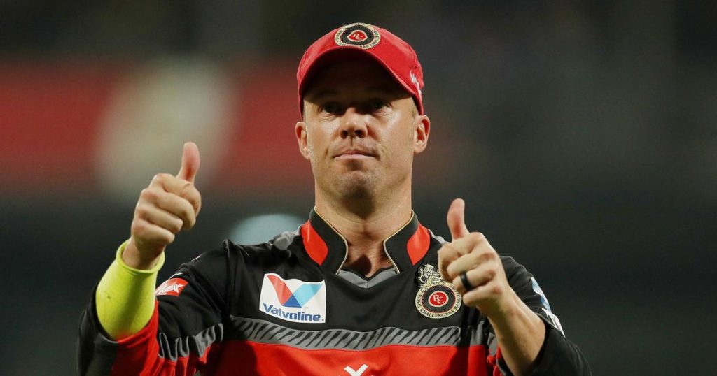 AB de Villiers looks back on his journey with RCB