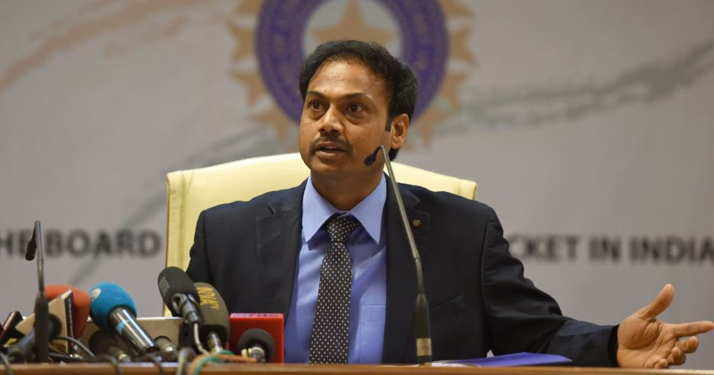 """Mahi didn't want to play for sometime, so we moved on"" MSK Prasad"