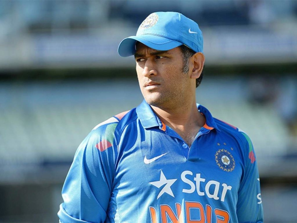 MS Dhoni has no further ambitions of representing India ?
