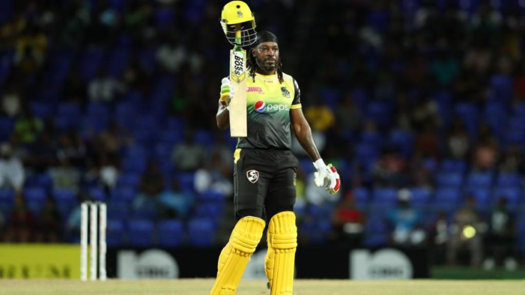 Gayle withdraws his name from Caribbean Premier League 2020