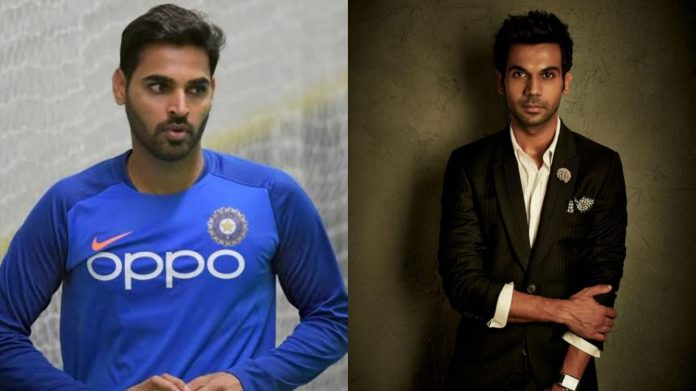 Rajkumar Rao has a lot of similarities with me : Bhuvneshwar Kumar on his Biopic star
