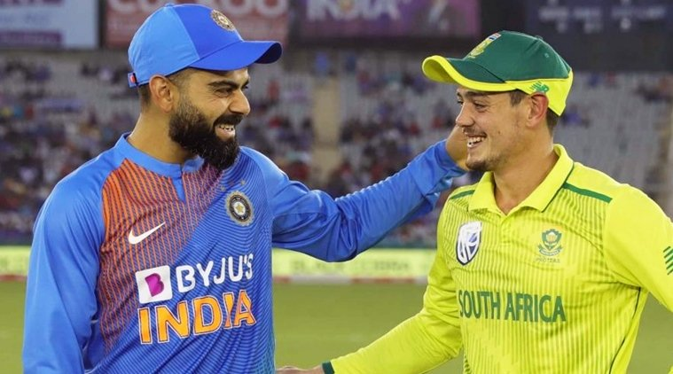 Team India to play a three match T20I series against Proteas before IPL 2020