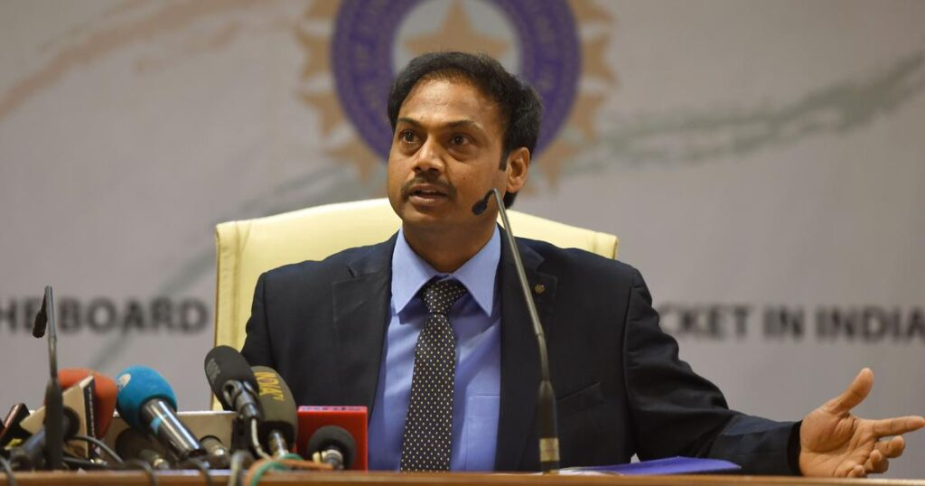 Former chief selector MSK Prasad picks his team India's squad for Australia tour
