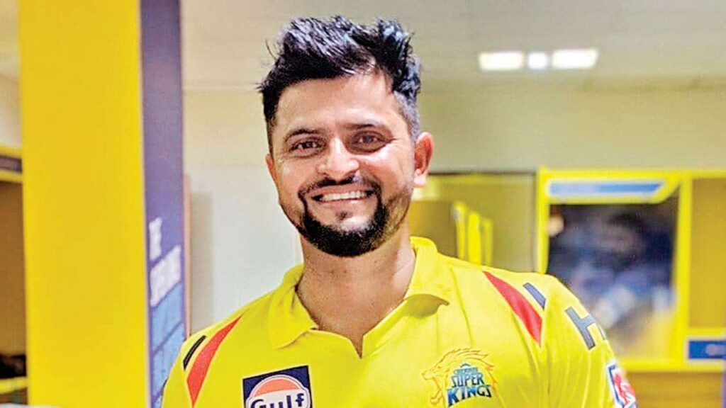 Suresh Raina names the player who should bat at no. 3 in his absence