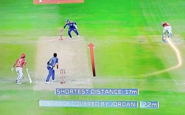 Chris Jordan reveals why he took a longerroute while completing second run against MI
