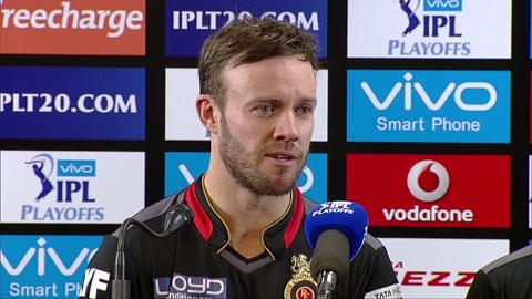 AB De Villiers Breaks His Silence After Being Demoted In batting order Against KXIP
