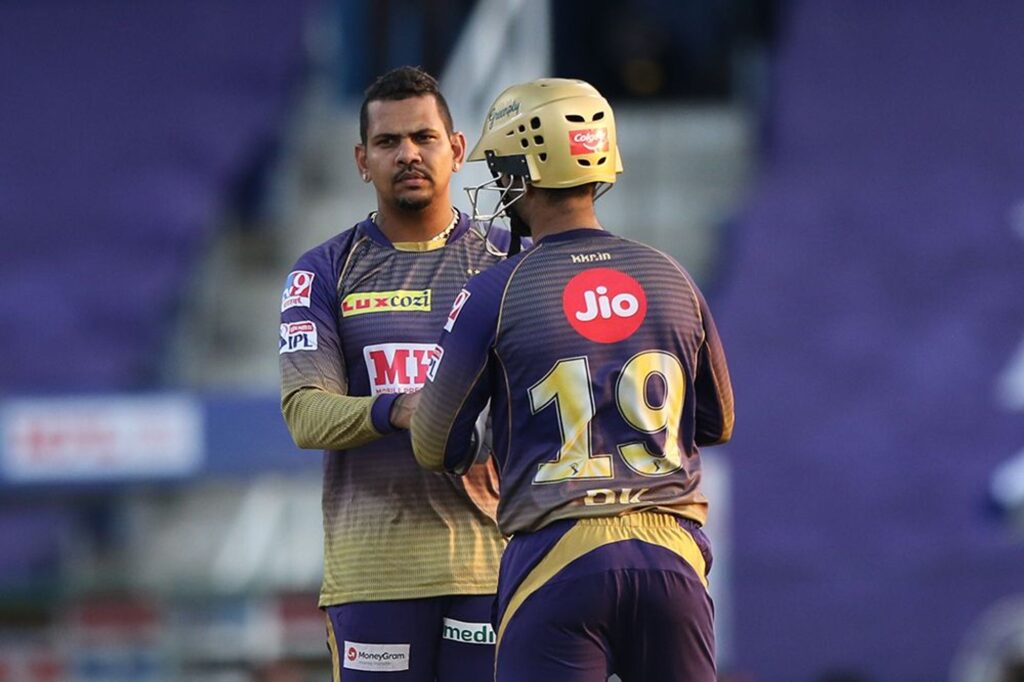 Sunil Narine reported for suspect bowling after a superb spell against KXIP