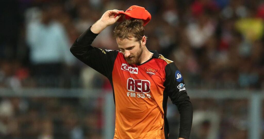 Kane Williamson likely to miss today's match Against RR