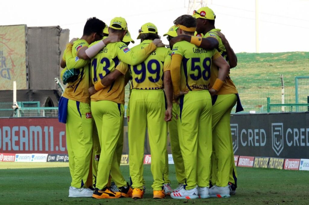 CSK posts a hilarious tweet after victory against KXIP