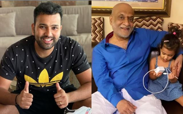 The main reason of Rohit Sharma not travelled to Australia with Indian Team