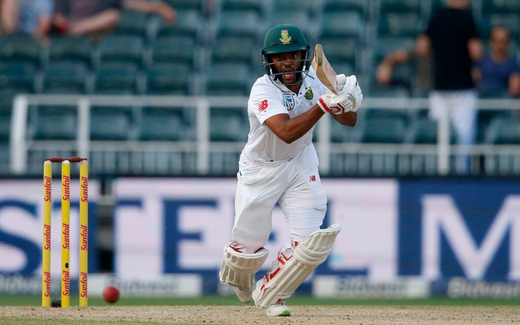Being Not Out, Temba Bavuma left the field during the match