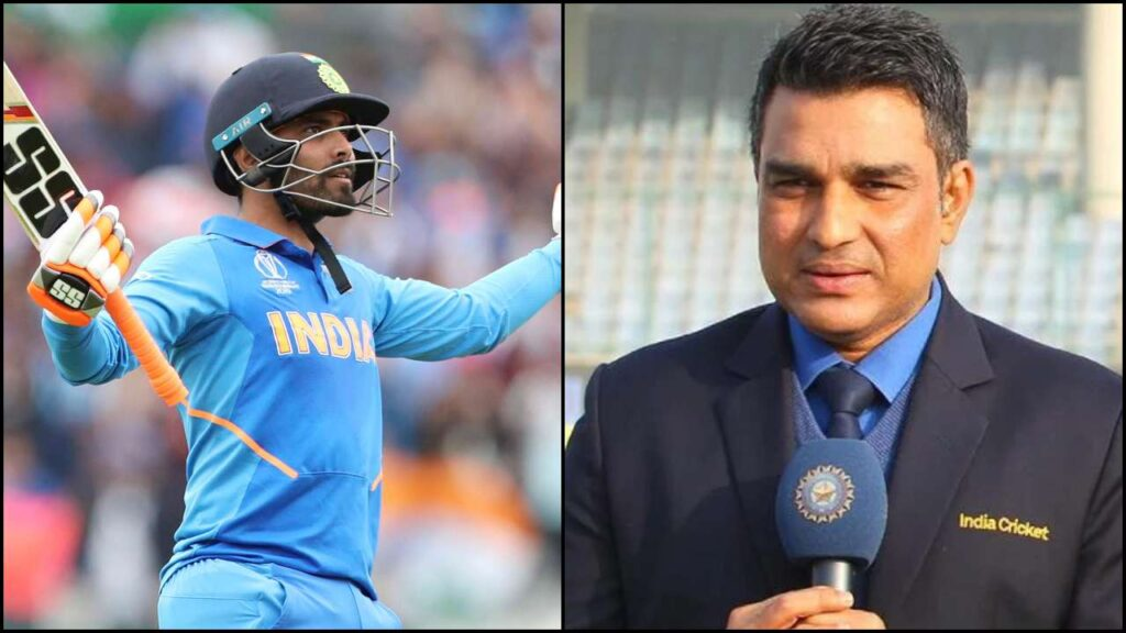 A enigmatic message written by Ravindra Jadeja after statement of 'I have a problem with his cricketers in white ball cricket' said by Sanjay Manjrekar