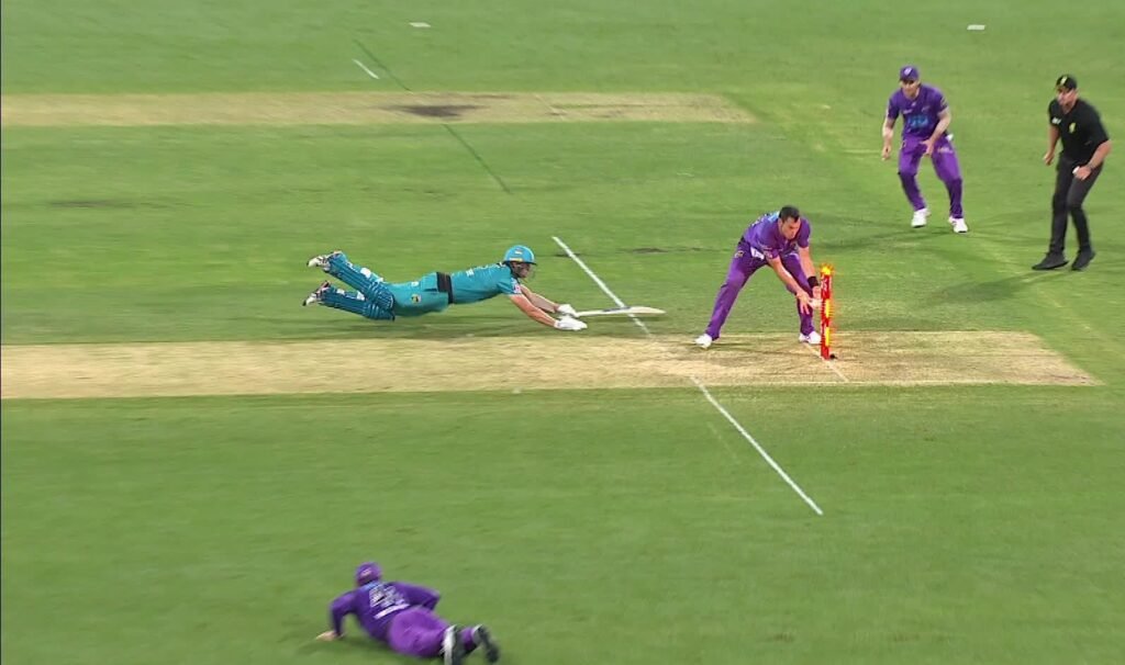 Hurry decision took by Umpire made Hurricanes win