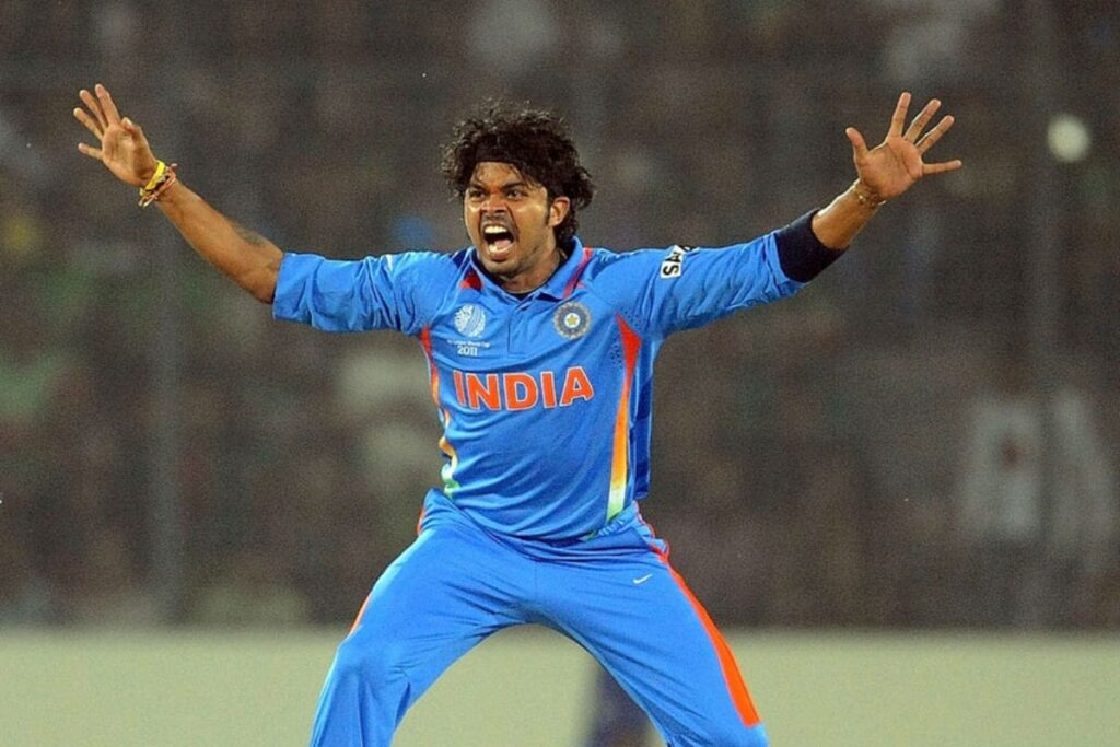 A Splendid comeback by India Pacer Sreesanth to the Cricket