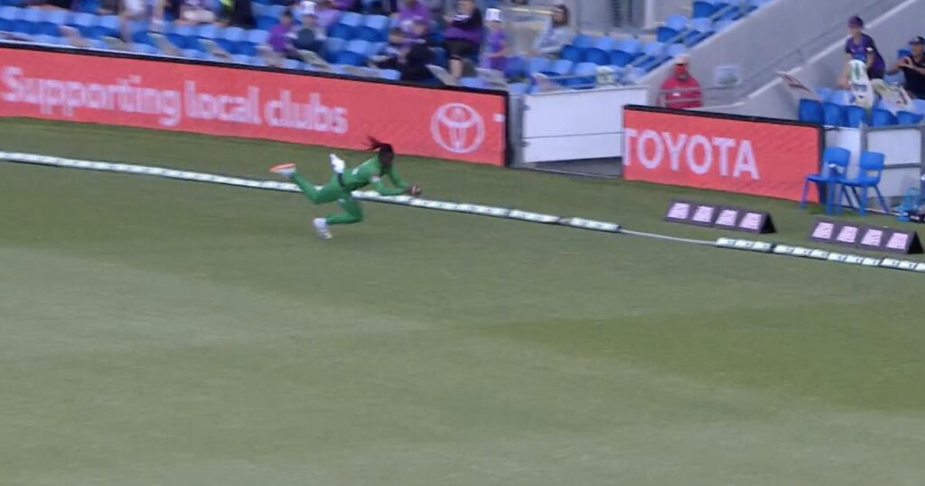 Two astonishing catch took by Andre Fletcher: Celebration goes viral