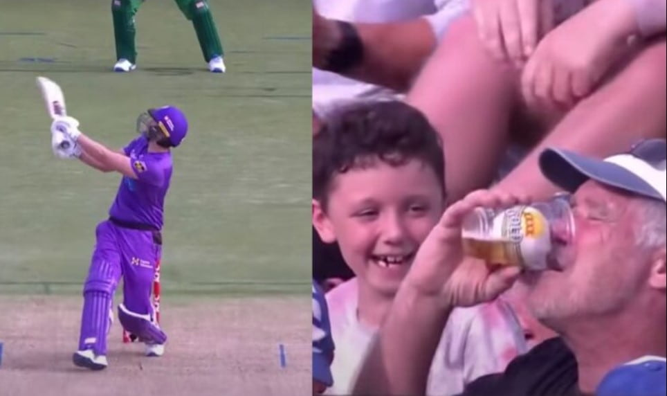 A Hilarious incident took place in BBL tournament