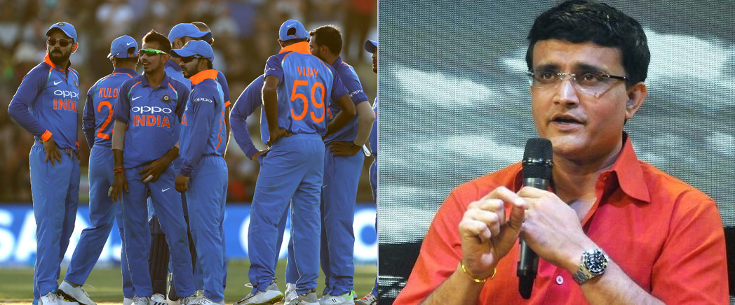 Sourav Ganguly picks his team of India for cricket world cup 2019