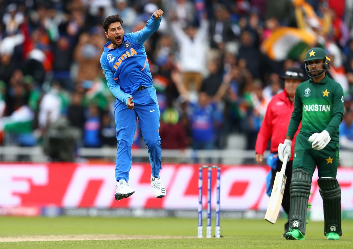 Kuldeep Yadav Bowled one of the best delivery of world cup 2019