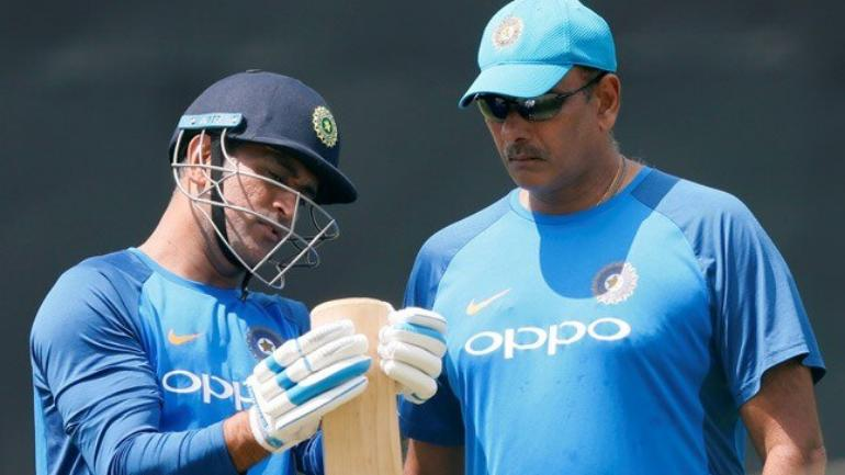 Ravi Shastri reveals the reason to send Dhoni at number 7