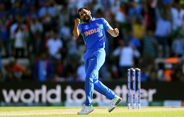 Mohammed Shami sent a message to an unknown lady