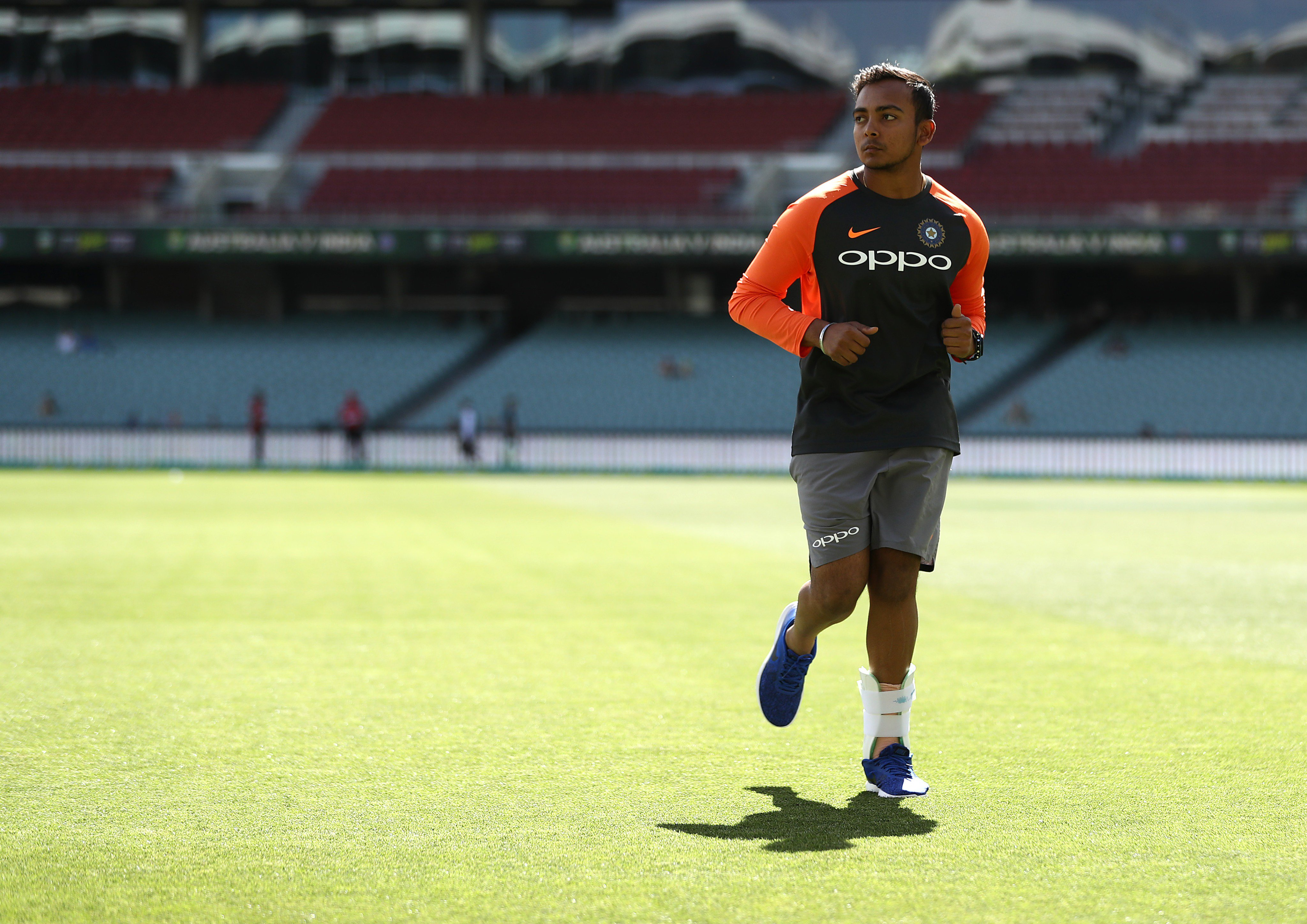 Prithvi Shaw suspended for a doping violation
